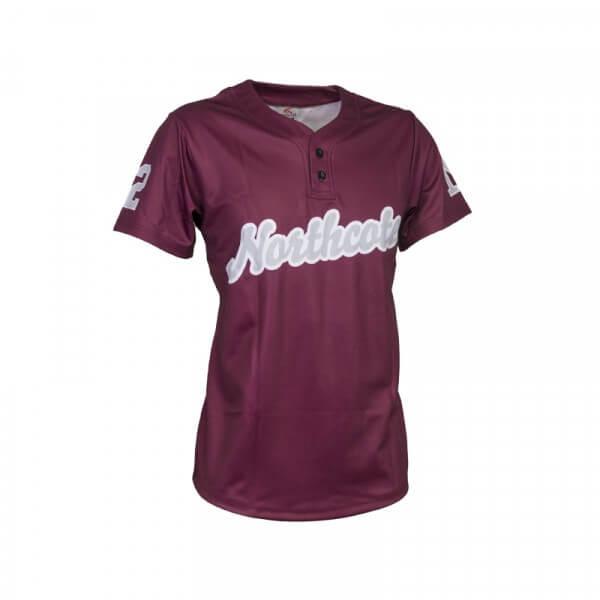 Custom softball uniform