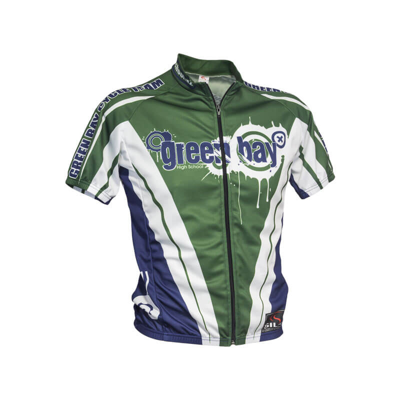 Green Bay High School Custom Cycling Jersey