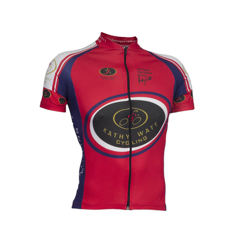 Kathy Watt Custom Cycling Jersey