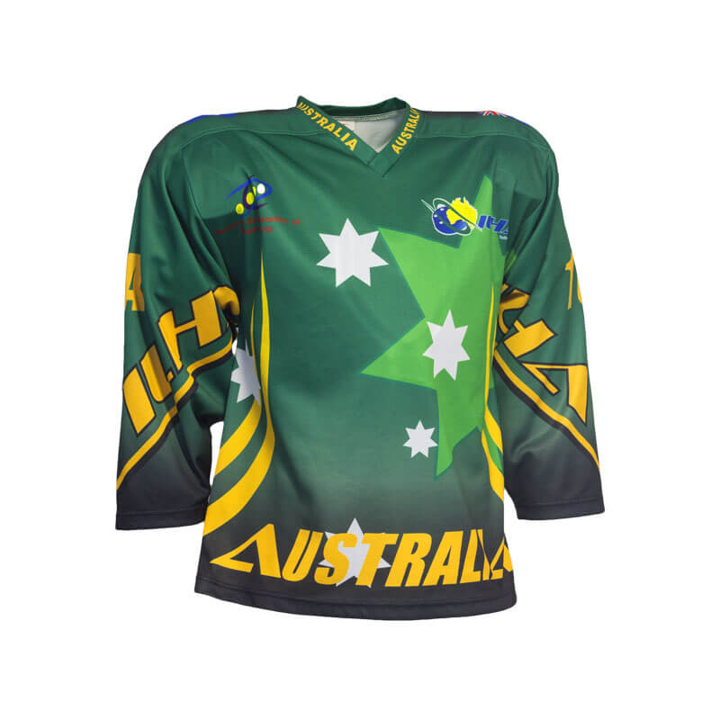 Australian Custom Inline Hockey Jersey - Sila Apparel