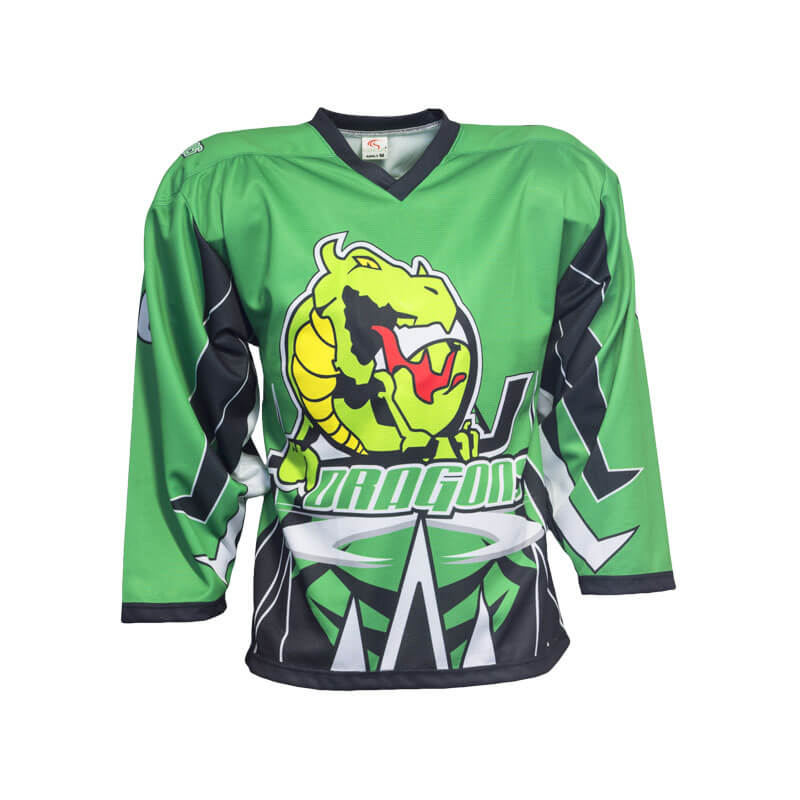 Dragons Custom Inline Hockey Jersey - Sila Apparel 936fc693fe3
