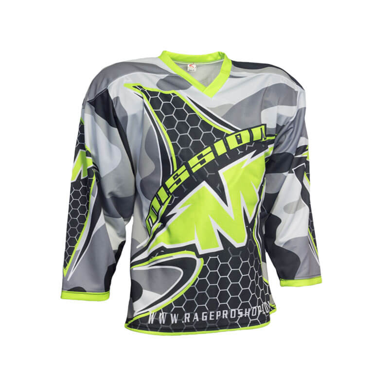 Mission Custom Inline Hockey Jersey - Sila Apparel ab26d357075