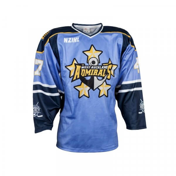 West Auckland Admirals Ice Hockey Jersey